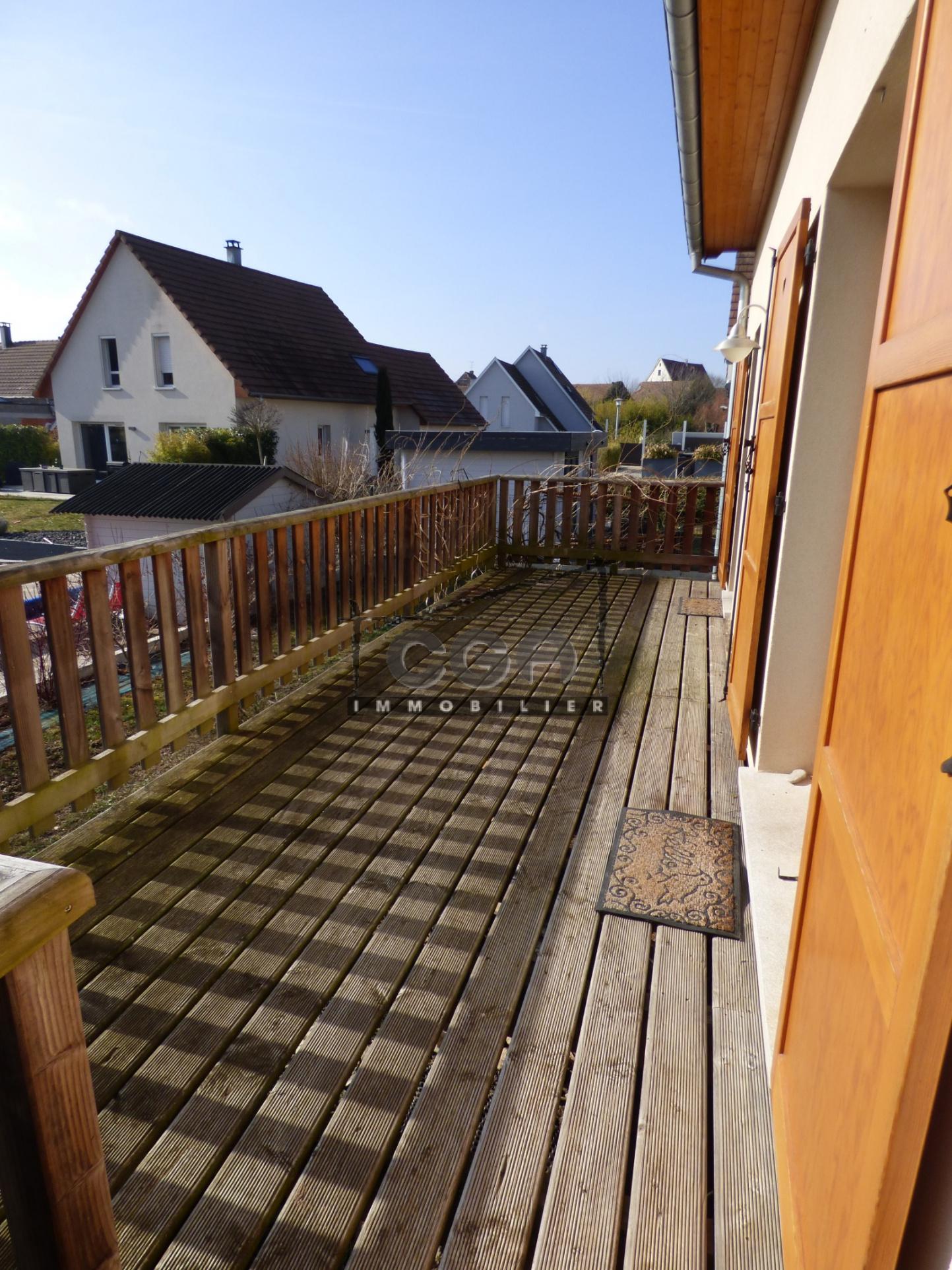 2 terrasses en bois